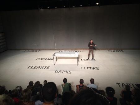 """Guillaume Billiart """"Tartuffe"""" Grande Scène"""