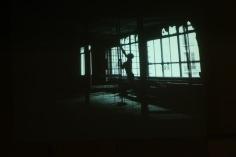 "Installation vidéo ""Mutant Stage"" cuverie"