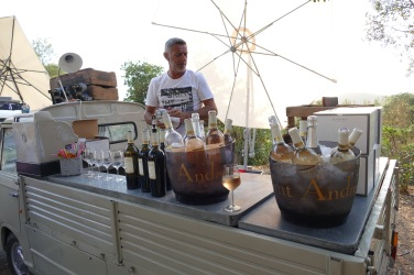 Et surtout le vin du domaine St André de Figuière !!